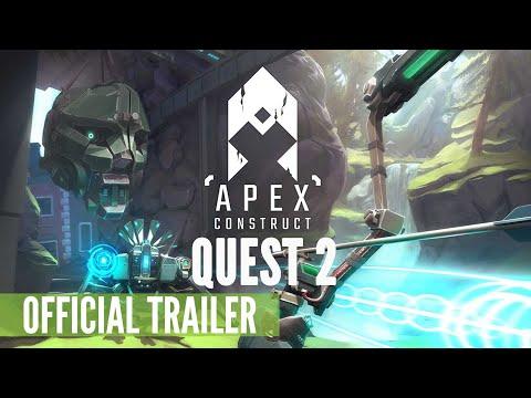 Apex Construct Quest 2 Enhancements Trailer (Fast Travel Games) - Quest, PC VR, PSVR
