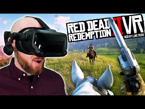 Red Dead Redemption 2 In VR Is WILD