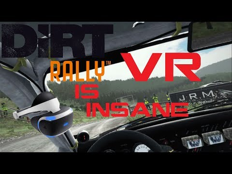 DiRT Rally VR is INSANE