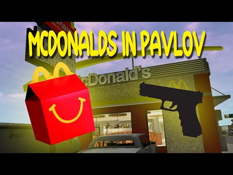 I went to a McDonalds in Pavlov and this happened....
