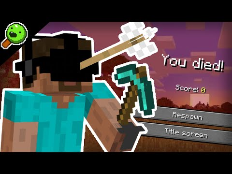 Minecraft in VR is absolutely traumatizing...
