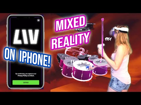 Mixed Reality with LIV iPhone App! Easy tutorial for Oculus Quest 2 without green screen or PC!