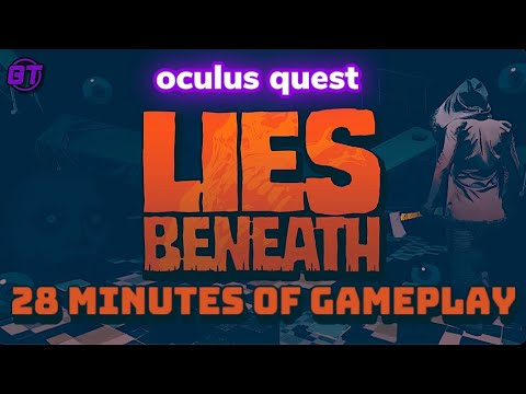 Lies Beneath Oculus Quest Introduction Gameplay (No Commentary)