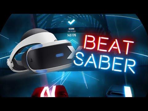Beat Saber PSVR is AMAZING!   Beat Saber PSVR (Part 1)