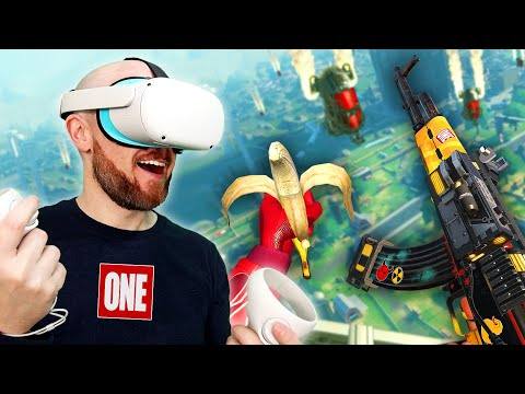 Population One Brings BATTLE ROYALE To VR