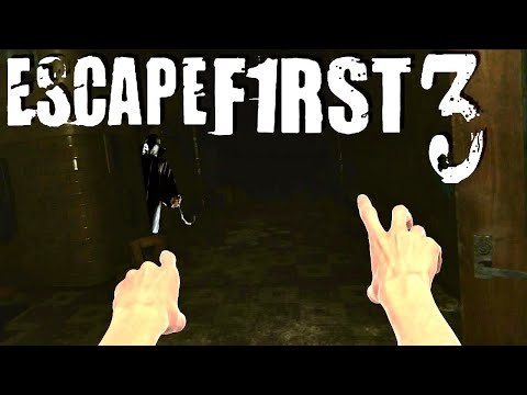 THIS NEW VR ESCAPE ROOM GAME IS INSANE! | Escape First 3 (The Abandoned School Complete)