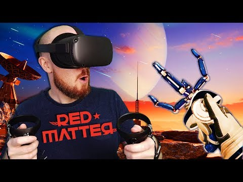 Red Matter Is The BEST Looking Game On Oculus Quest