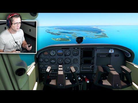 Microsoft Flight Simulator - Part 2 - FLYING TO THE BAHAMAS!