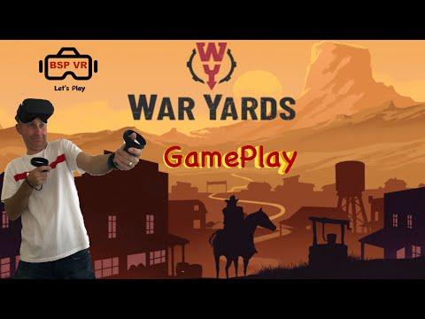 War Yards Best Wild West Oculus Quest 2 VR Game