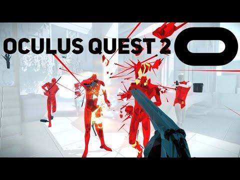 SuperHot Gameplay (Oculus Quest 2)