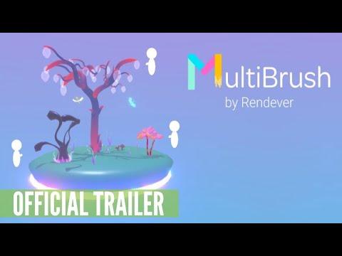 MultiBrush - Free Tilt Brush Multiplayer App for Oculus Quest