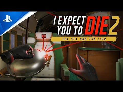 I Expect You to Die 2: The Spy and the Liar - Extended Announcement Trailer   PS VR