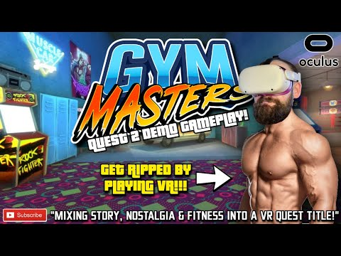 GYM MASTERS QUEST 2 Gameplay / New Story Driven VR Fitness Game for Quest // Oculus Quest VR Fitness