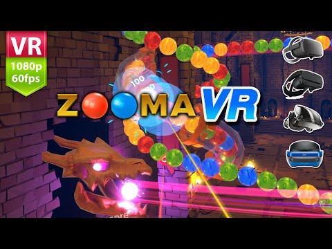 Zooma VR Play Zuma style game in VR 3D No Commentary | Rift, Index, Vive & WMR