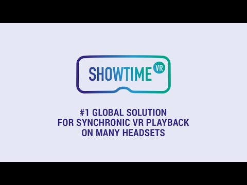Showtime VR installation / operation manual