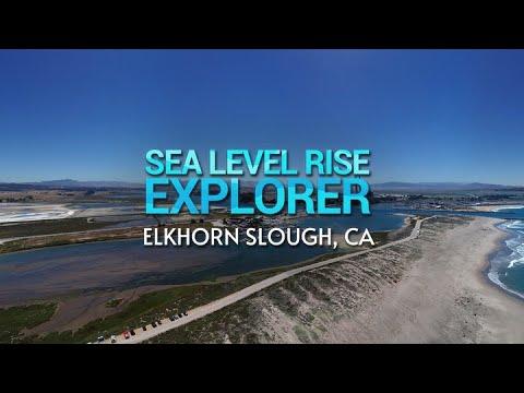 Sea Level Rise Explorer Elkhorn : Slough,CA on Gear VR