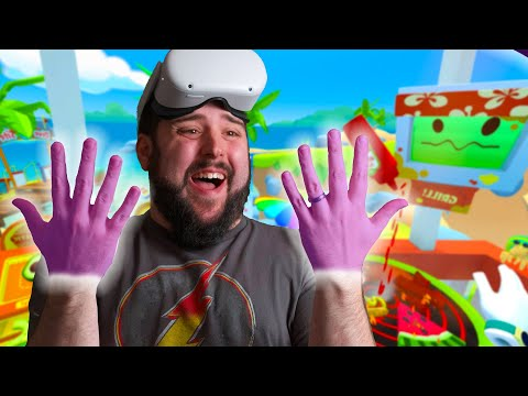 New BEST Oculus Quest Hand Tracking Game Is Here...Vacation Simulator!