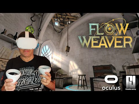 Exclusive look at FLOW WEAVER VR on Quest 2