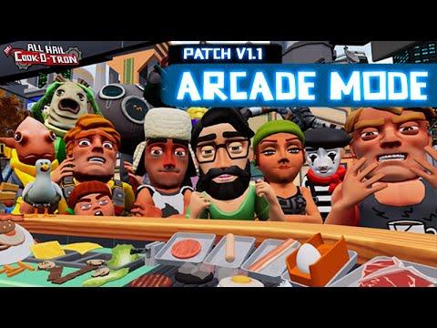 All Hail the Cook-o-tron Arcade Playthrough