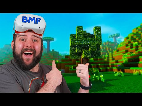 FINALLY Minecraft VR On The Oculus Quest 2?...Sort Of | Minecraft VR Clone