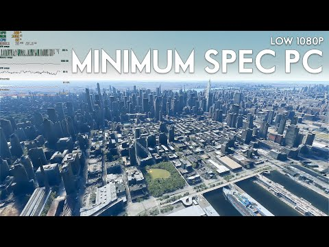 Microsoft Flight Simulator 2020 Running On MINIMUM / LOW Spec PC