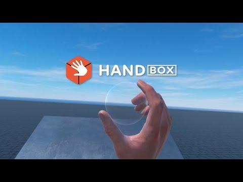 Handbox: A sandbox for your hands
