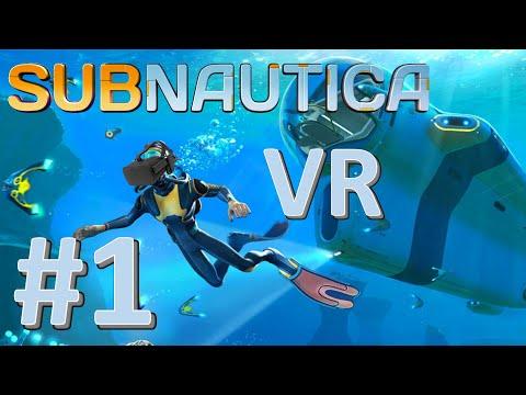Subnautica VR #1: Fishy Fishy
