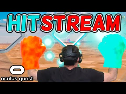 Hitstream is the BEST Oculus Quest Rhythm Fitness game on SideQuest. Try the free Alpha!