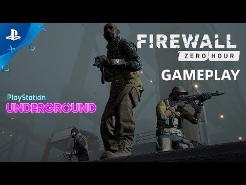 Firewall Zero Hour - PS VR Gameplay   PS Underground