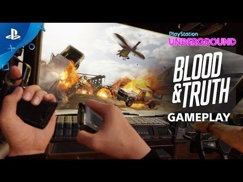 Blood & Truth - PS VR Gameplay   PlayStation Underground