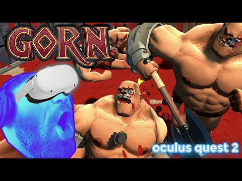 ITS CLOBBERIN' TIME!! - Gorn VR Oculus Quest Gameplay (Gleam Giveaway in Description)