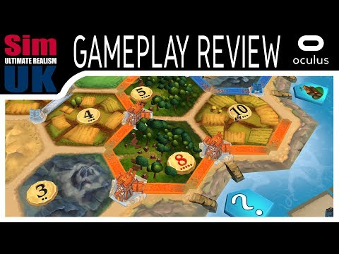 Catan VR Review | Catan VR Gameplay | Catan VR Is It Any Good?