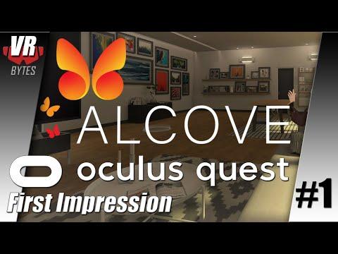 Alcove / Oculus Quest / First Impression / Let´s Play #1 / Deutsch / Spiele / Test
