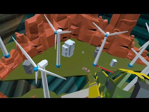 BATTLE ARENA VR gameplay.
