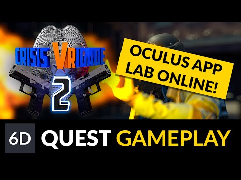 Crisis Vrigade 2 is on App Lab! | Oculus Quest Gameplay Footage