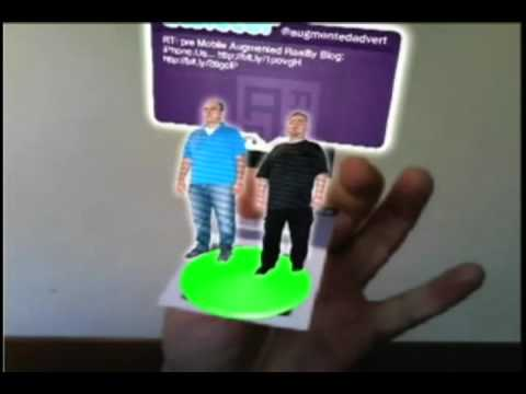 Augmented Reality Business Card Examples