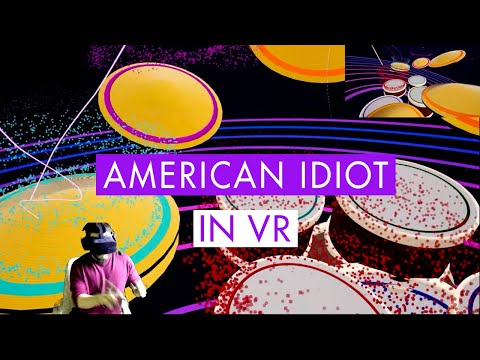 American Idiot - Drum Cover in VR (Paradiddle)