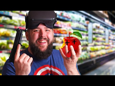Shooty Fruity VR Oculus Quest Gameplay