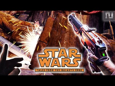 STAR WARS: Tales from the Galaxy's Edge - Gameplay No commentary (Oculus Quest 2)