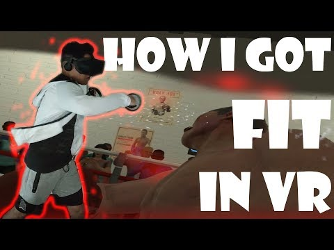 HOW I GOT FIT IN VR - Thrill of the fight review