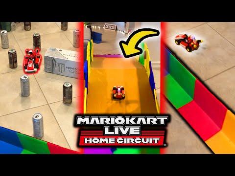 We Built A MASSIVE Mario Kart Home Circuit Track
