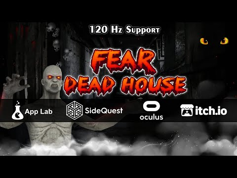 Fear Dead House - Official Trailer | VR Game | Horror Game | Oculus Game | Oculus Quest 1/2 | RIFT/S
