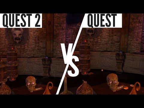 Waltz Of The Wizard Quest 2 vs Quest Graphics Comparison