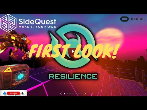 Resilience VR Gameplay - FREE Sidequest Game Oculus Quest 2 Gameplay