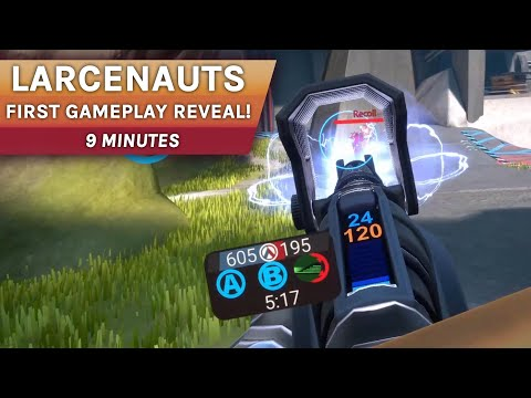 Larcenauts FIRST Gameplay Reveal - 9 Minutes of PC VR Footage
