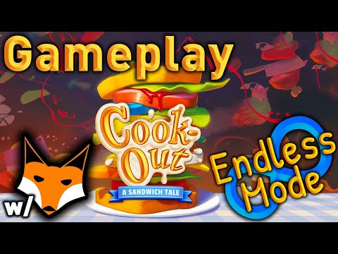 Cook-Out Vr Gameplay Endless Mode | It's hilarious and intense