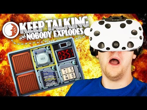 Virtual Reality Bomb Defusing! - Keep Talking and Nobody Explodes VR Gameplay - VR HTC Vive