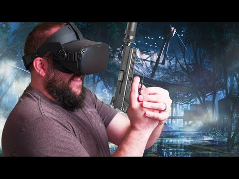 Oculus Quest Phantom Covert Ops Gameplay | Tactical Espionage Kayak Action In VR