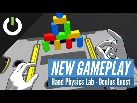 Hand Physics Lab - Hand Tracking Gameplay (Holonautic) Oculus Quest via SideQuest