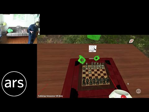 Sam and Lee have way too much fun playing Tabletop Simulator VR